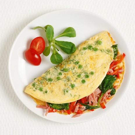 Омлет или блюда с яйцом