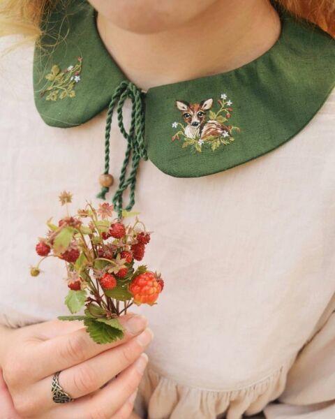 Нестандартные и простые предметы и изделия для вышивки рис 13