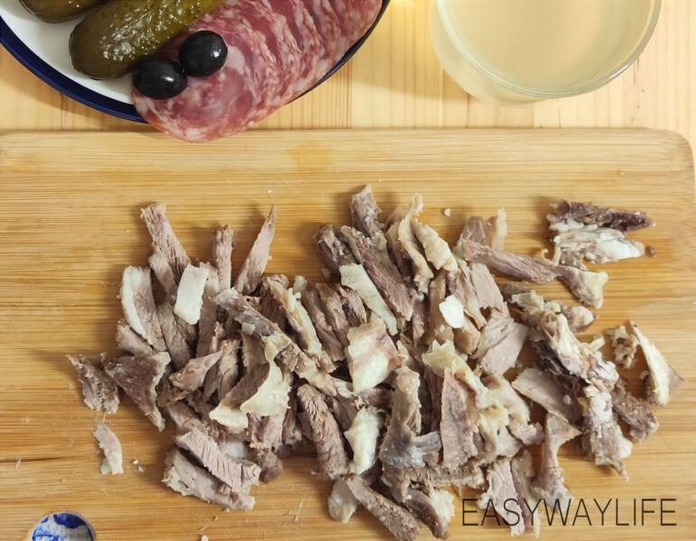 Сборка солянки с картофелем рис 1