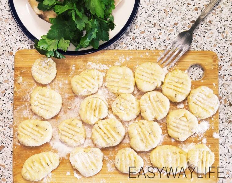Приготовление картофельных ньокков рис 2