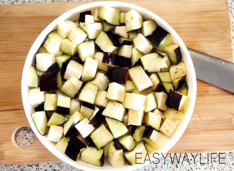 Подготовка овощей для жарки рис 2
