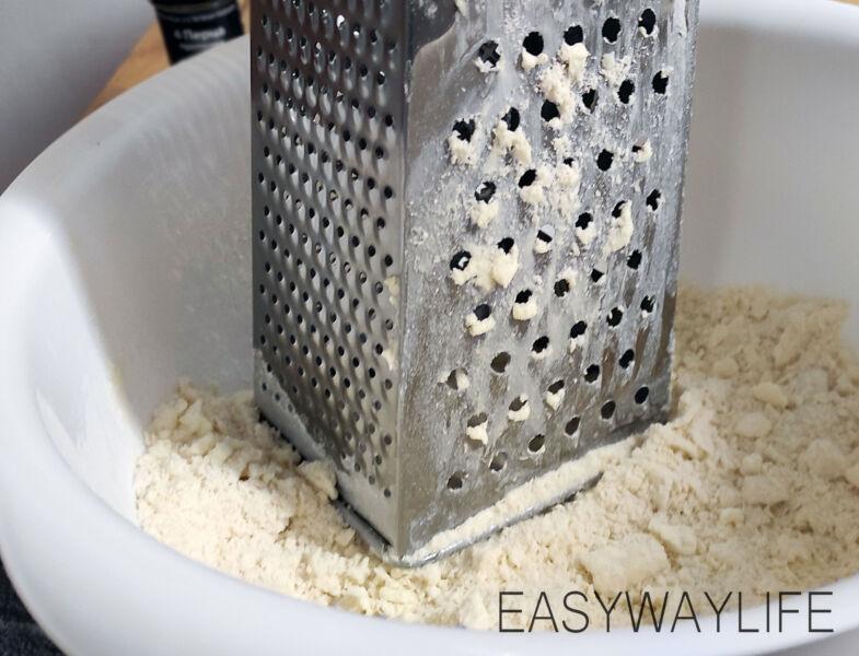 Готовим тесто для киша лорен рис 1