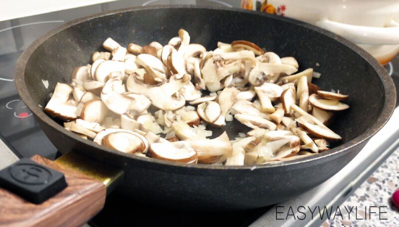 Подготовка начинки для киша лорен рис 3