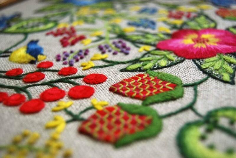 Виды вышивки рис 3
