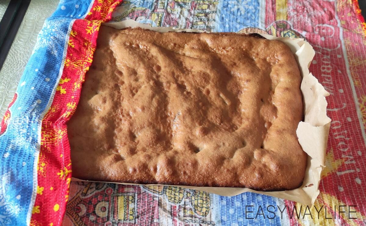 Пропитка коржей и формирование торта рис 1