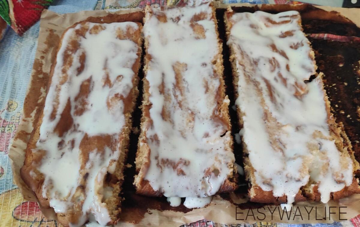 Пропитка коржей и формирование торта рис 5