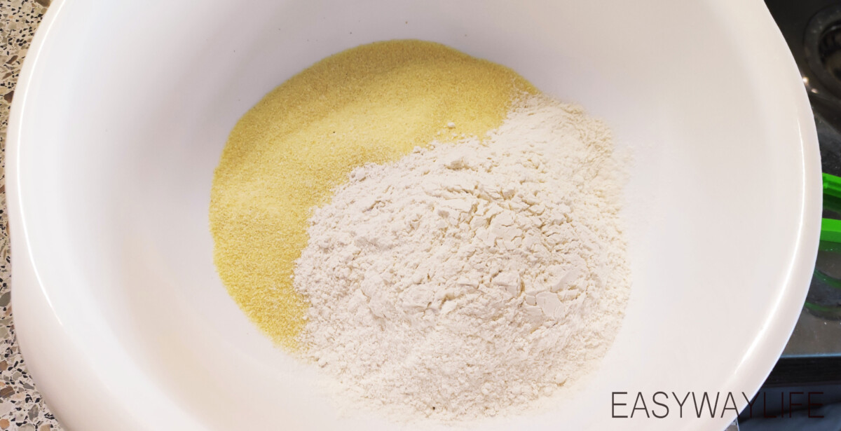 Замешивание теста для басбусы рис 3