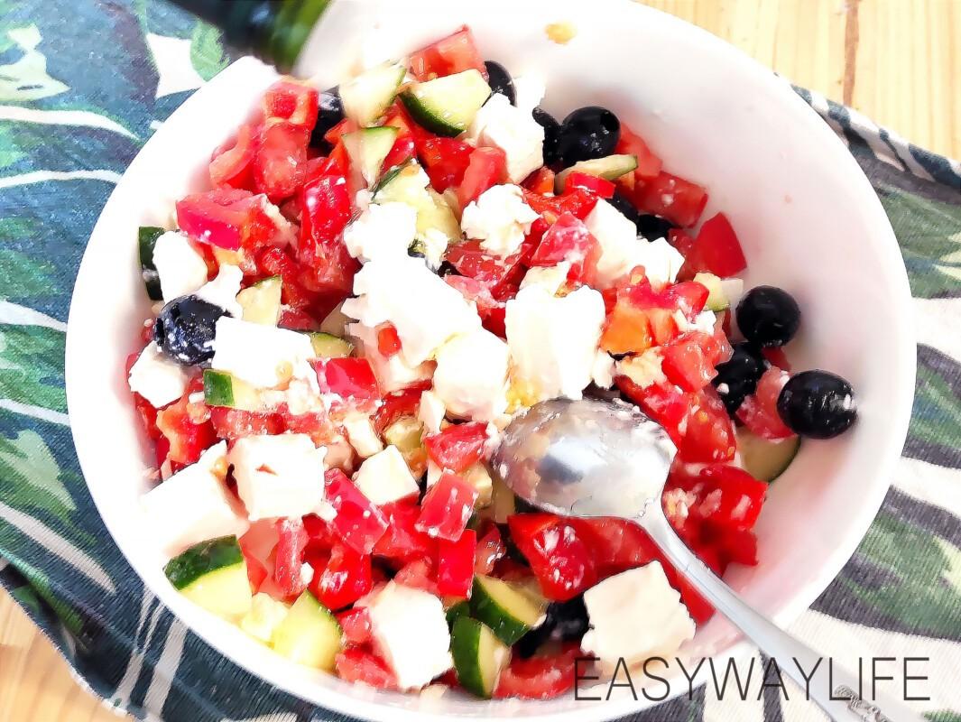 Заправка греческого салата рис 4