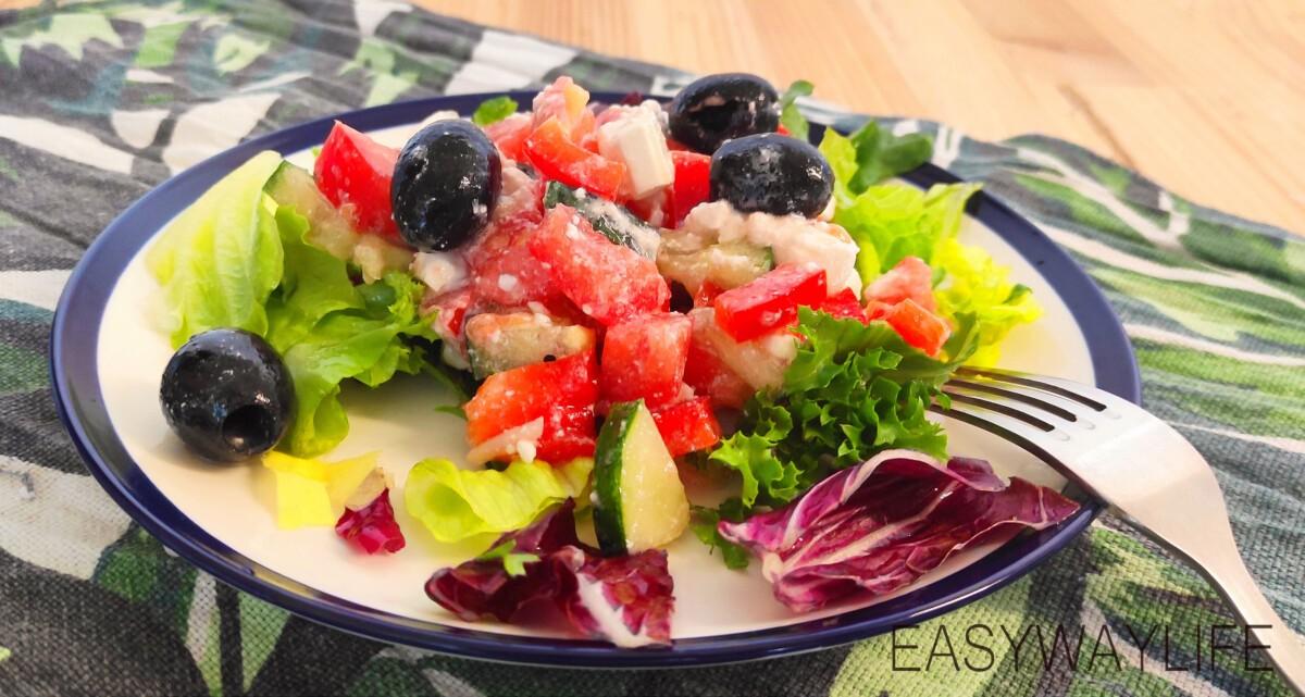 Заправка греческого салата рис 5