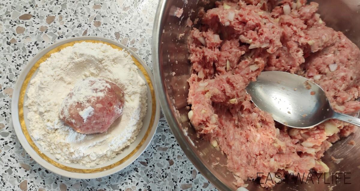 Приготовление тефтелей рис 2