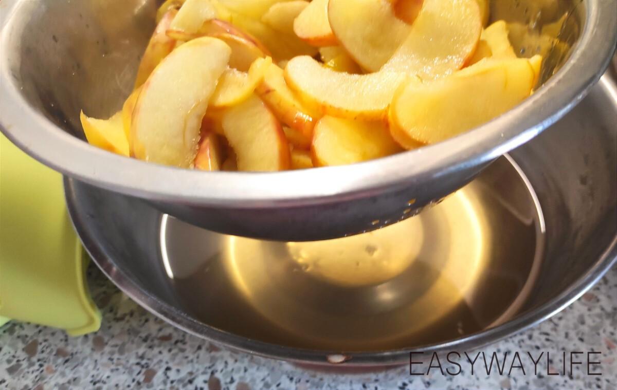 Карамелизирование яблок для пирога рис 2
