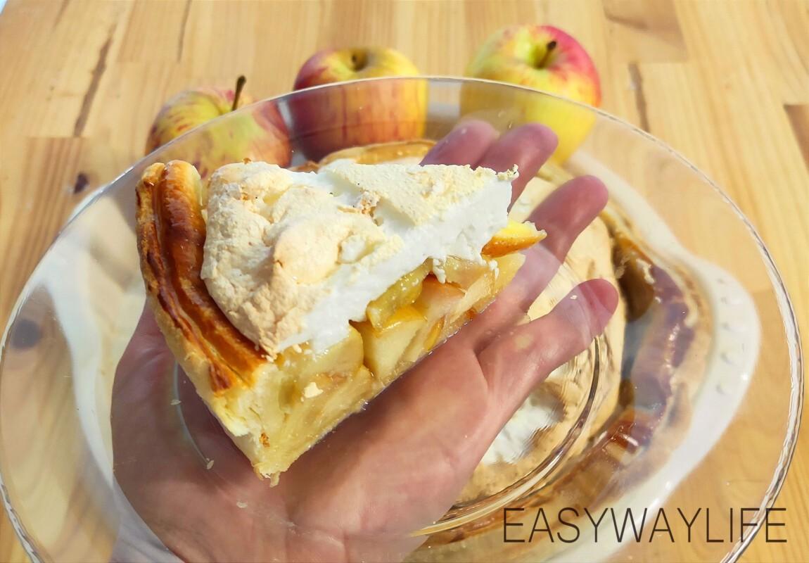 Меренга для яблочного пирога рис 5