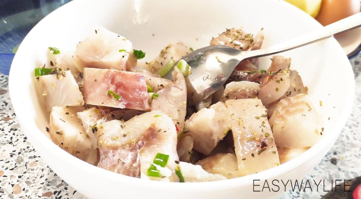 Подготовка рыбы и картофеля рис 2