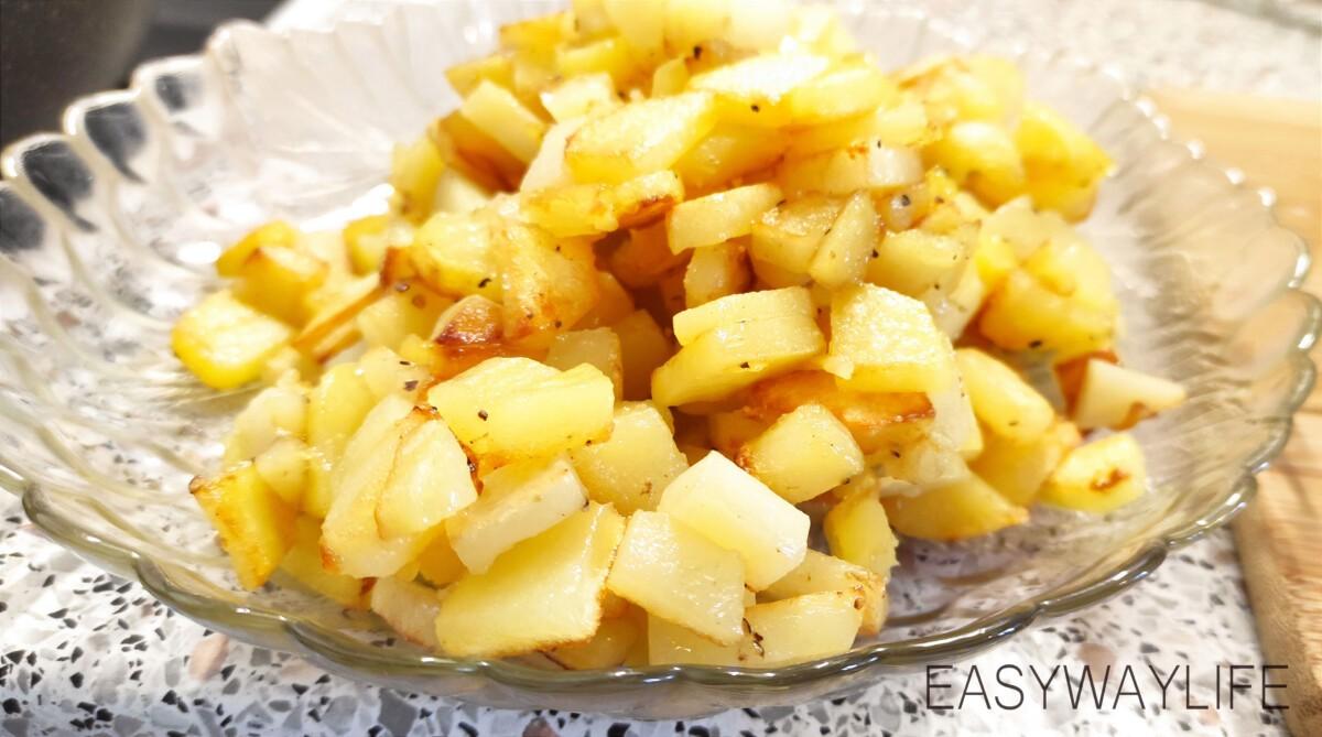 Жарка картофеля и других овощей рис 2