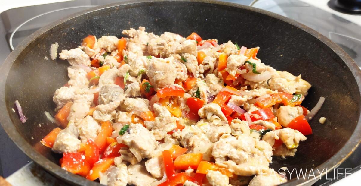 Приготовление горбуши с овощами рис 2