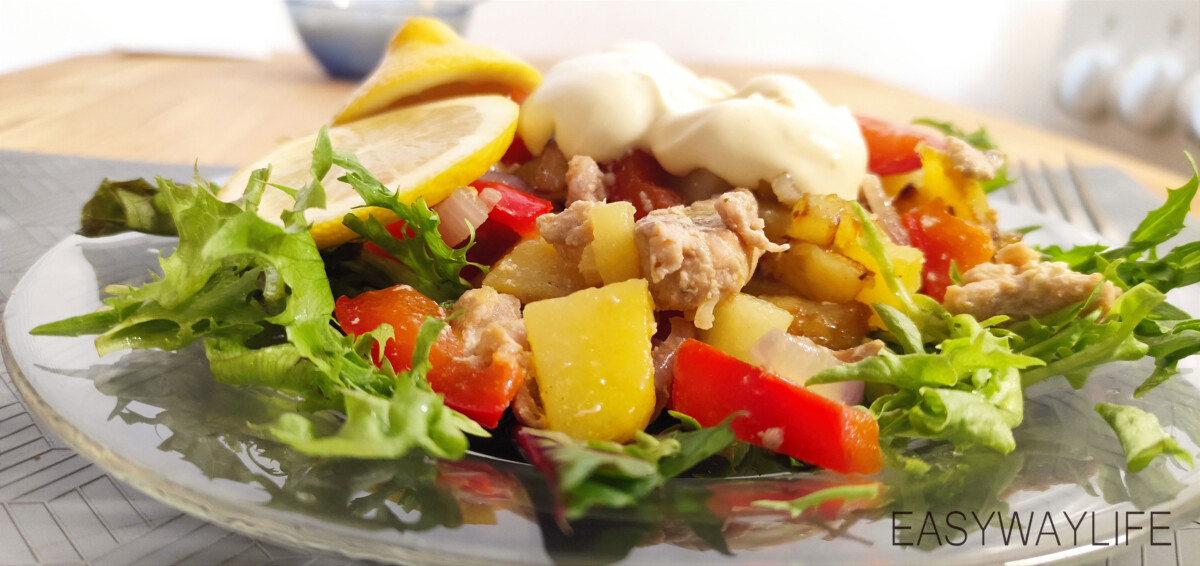 Приготовление горбуши с овощами рис 3