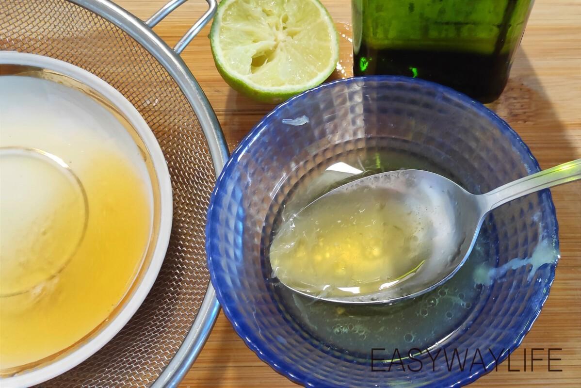 Приготовление заправки для тёплого салата с курицей рис 1