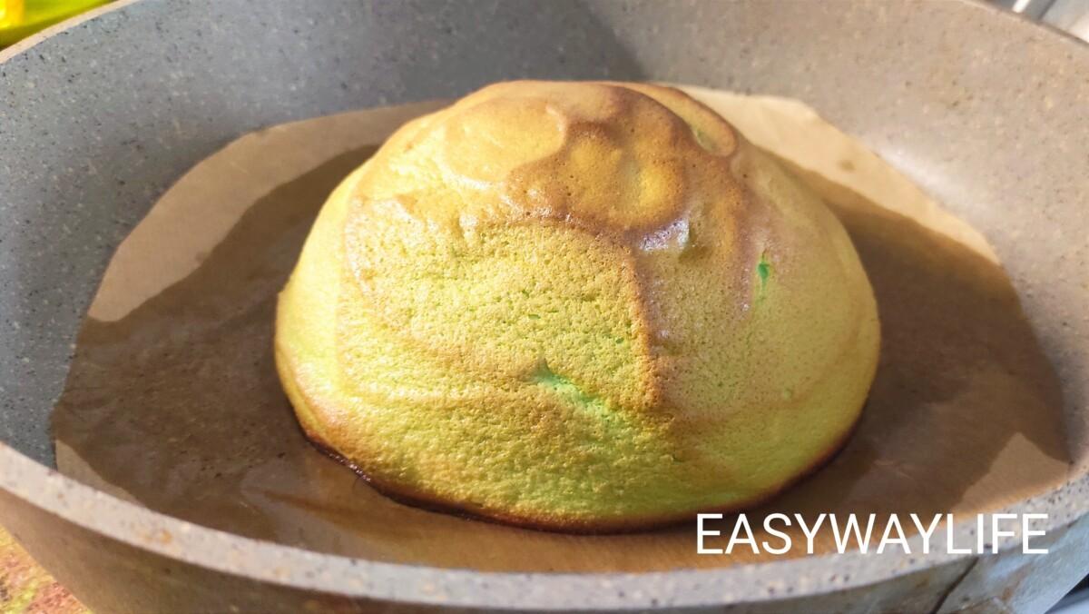 Окрашивание и выпекание облачного хлеба рис 7