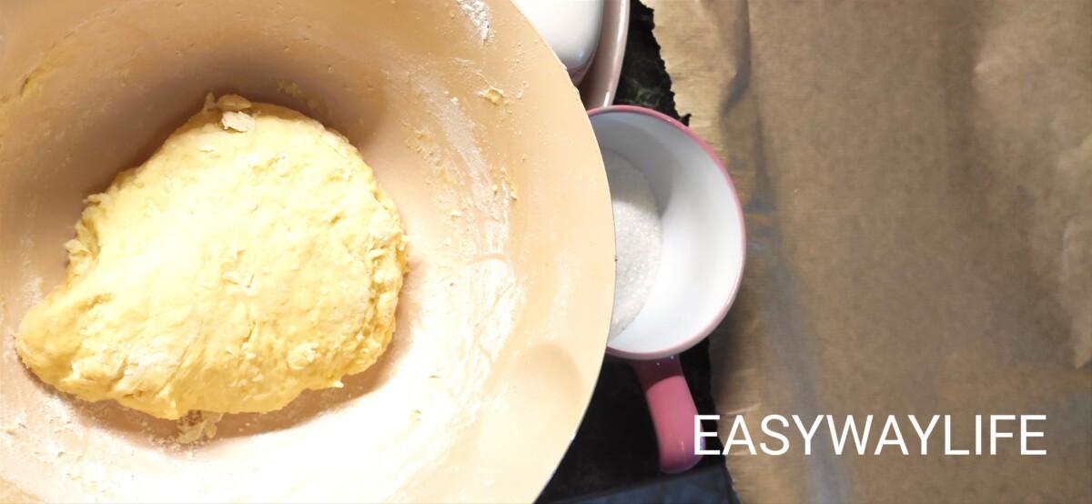 Приготовление теста для печенья рис 1
