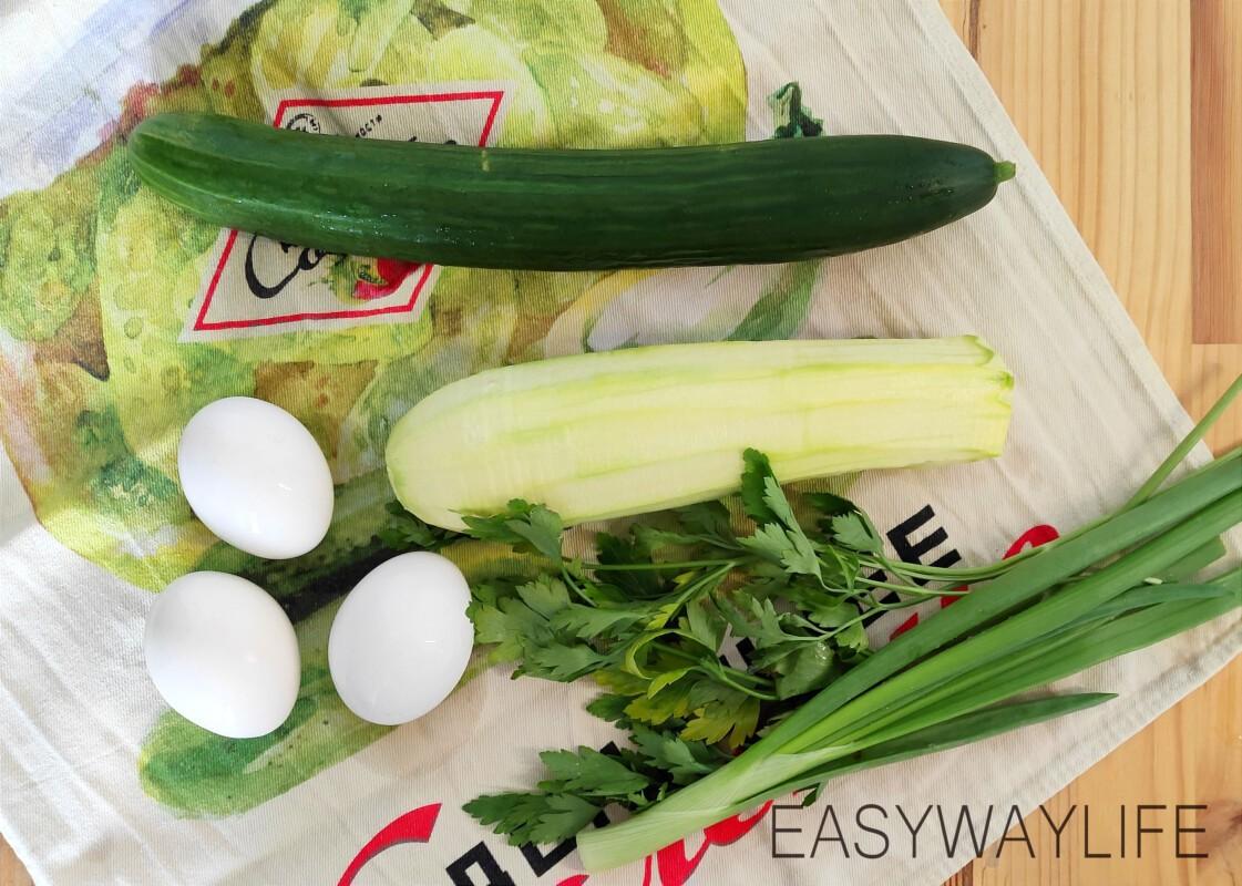 Салат из свежих кабачков рис 1