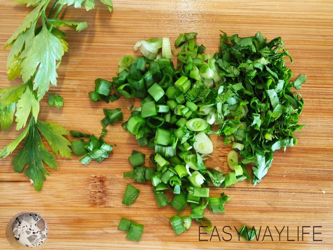 Нарезка овощей для салата рис 4