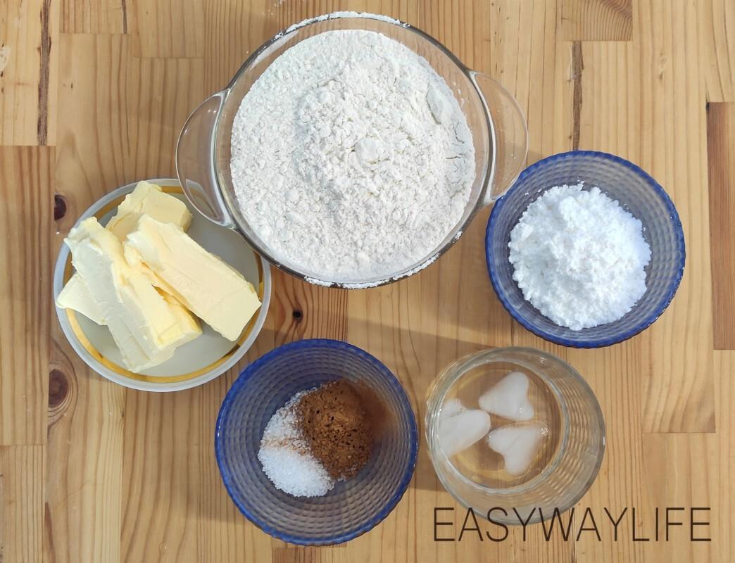 Ореховый тарт рис 1