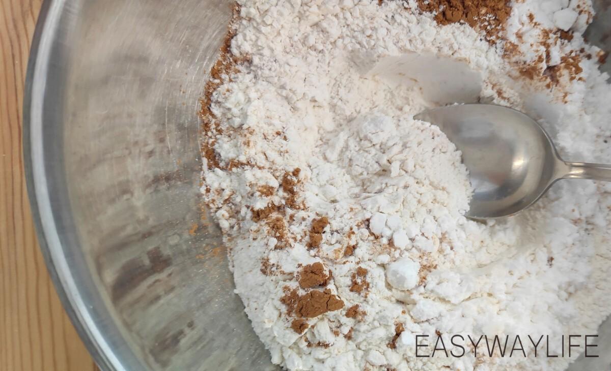 Приготовление основы для орехового тарта рис 1