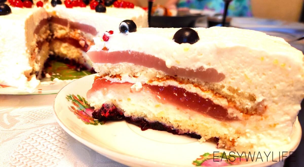 Сборка торта рис 5