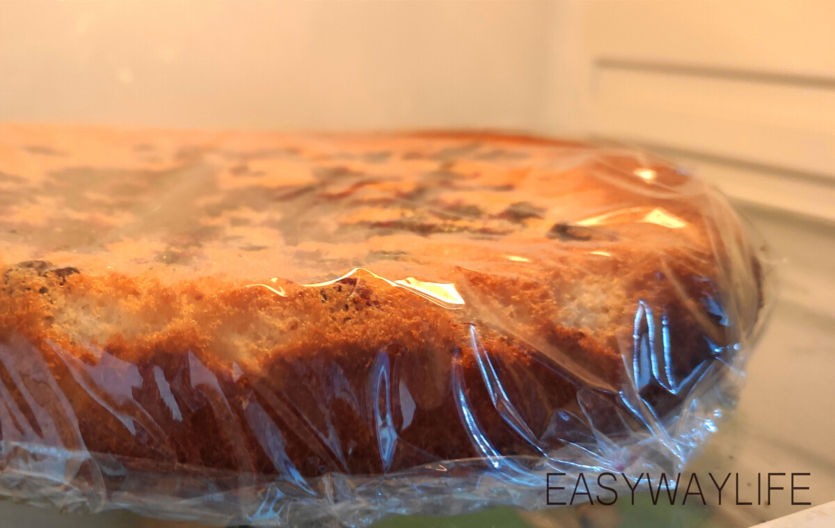 Бисквит для торта смородина рис 6