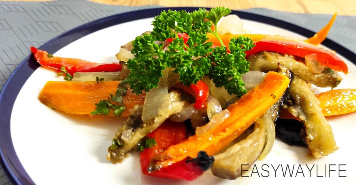 Подготовка и запекание овощей в духовке рис 8