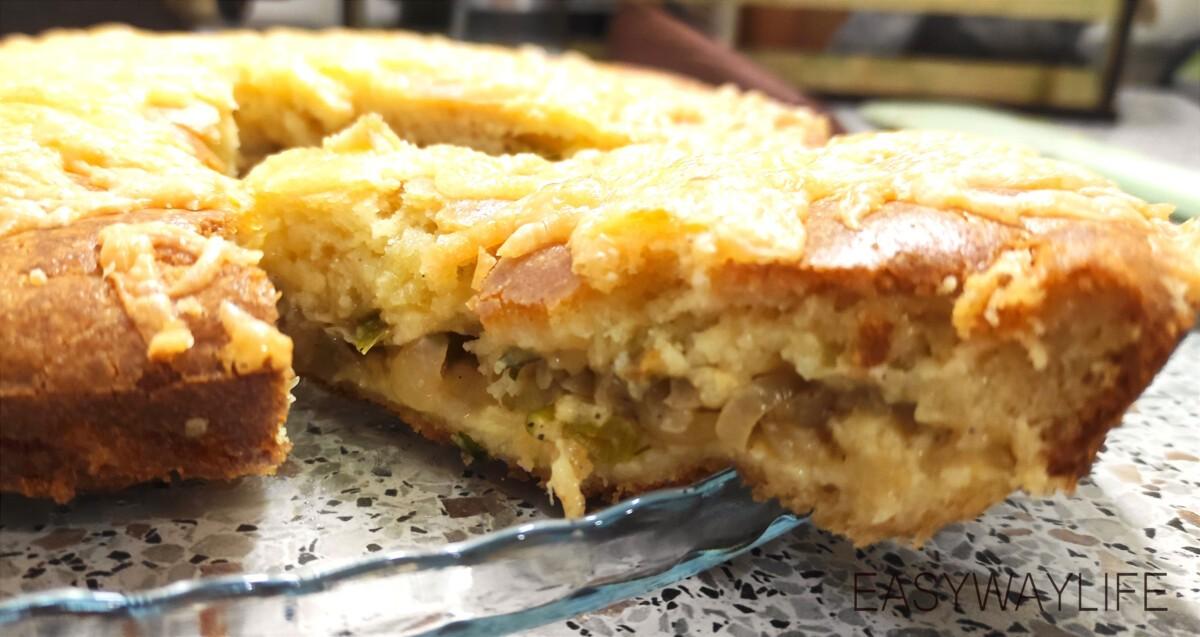 Тесто для заливного пирога и его запекание рис 6