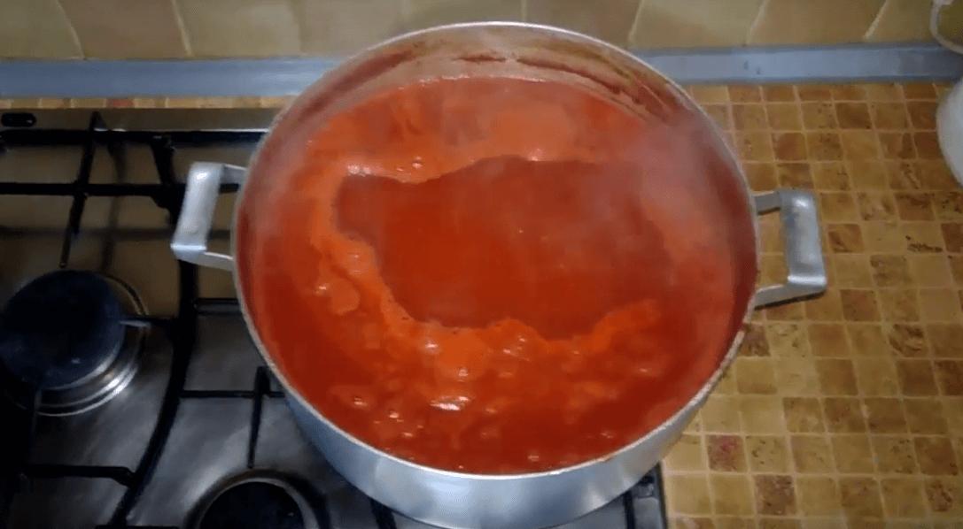 Томатный соус из сока в домашних условиях 233