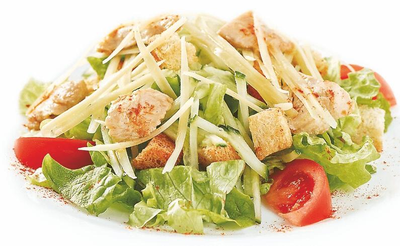 Цезарь по домашнему с курицей рецепт с пошагово в